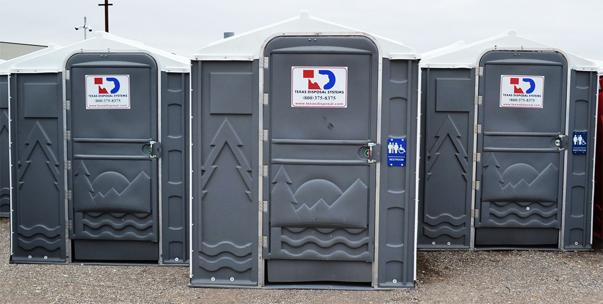 Texas Disposal Systems ADA Accessible Portable Restrooms