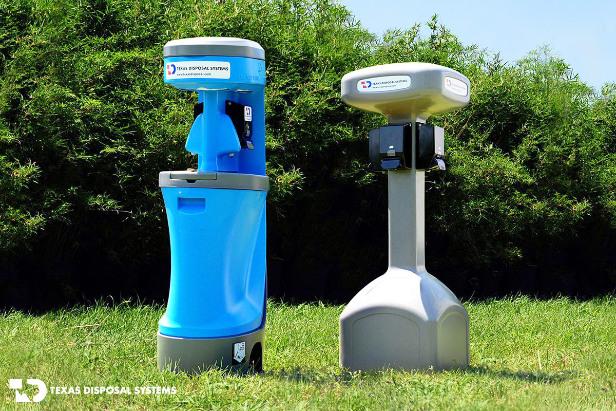 Texas Disposal Systems Hand-Washing Stations