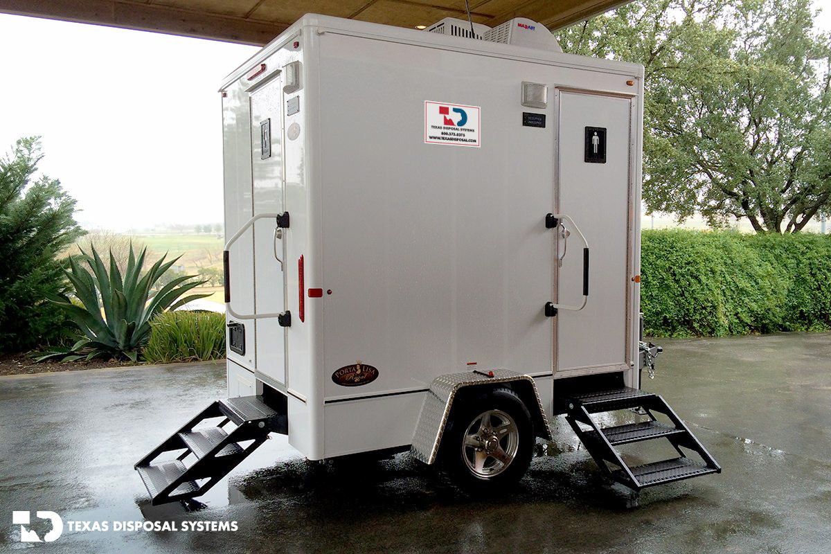 Texas Disposal Systems Elite Restroom Trailer
