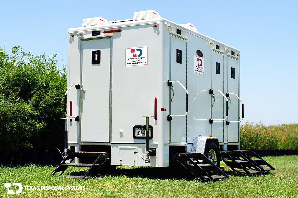 Texas Disposal Systems Efficient Restroom Unit